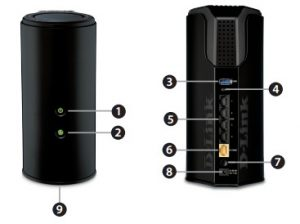 DIR-868L Duel Band Gigabit Cloud Router Internet Setup